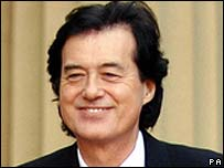 Jimmy Page, pictured in 2005