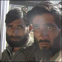 Captured soldiers