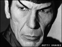 Leonard Nimoy as Dr Spock
