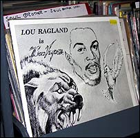 Understand Each Other by Lou Ragland in Soul Brother's shop in Putney