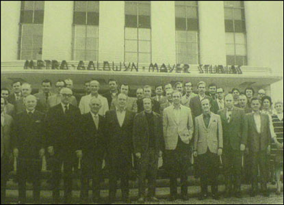 MGM's executives from the 1960s - Herb Solow pictured centre (picture: Herb Solow)