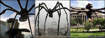 Louise Bourgeois' spider sculpture