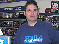 Laurence Prangell of Soul Brother Records in Putney