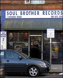 Soul Brother Records in Putney, south London