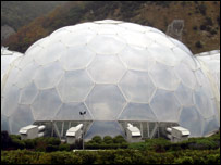 A biome at the Eden Project