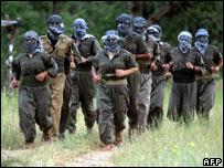عناصر من حزب العمال الكردستاني