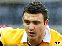 Motherwell defender Danny Murphy