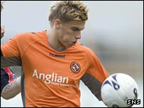 Dundee United striker David Goodwillie