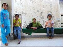 Sherifa Abdel Salam and daughters