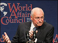 Dick Cheney, vicepresidente de Estados Unidos.