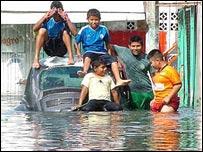 Inundaciones en Tabasco