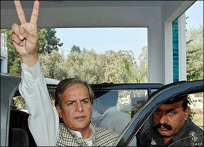 Javed Hashmi, acting leader of Pakistan Muslim League-N