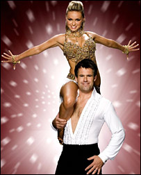 Kenny Logan and Ola Jordan