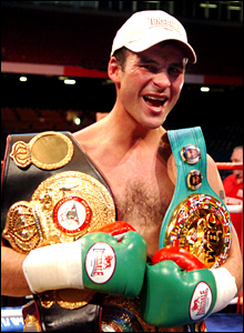 Joe Calzaghe (Huw Evans Agency)