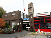 Alcester fire station