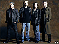 Glenn Frey, Joe Walsh, Timothy B Schmit and Don Henley