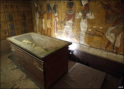 Sarcophagus of King Tutankhamun