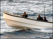 Somali pirates (file pic)