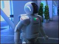 Asimo robot (BBC)
