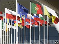 EU nations' flags