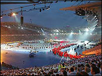 Manchester 2002 opening ceremony