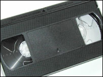 Video tape, BBC