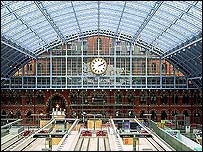 The Barlow train shed (photograph: Troika)