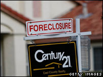 A foreclosed home in California