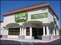 One of the Fresh & Easy stores set to open in the US