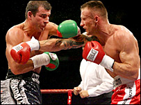 Joe Calzaghe and Mikkel Kessler