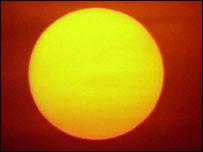 Sun. Image: BBC