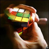Rubik's cube. Image: AP
