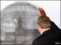 Al Gore at the Reichstag. Image: AFP/Getty