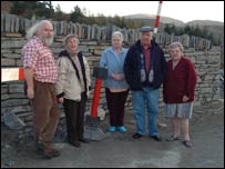 Residents at Oakeley Terrace