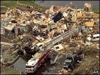 Tornado en Florida, EE.UU., ocasionado por El Ni�o