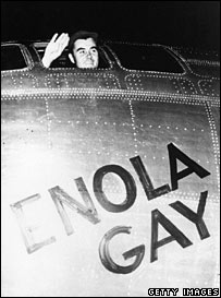 Enola Gay. Image: Getty