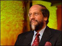 IPCC chair Rajendra Pachauri. Image: BBC