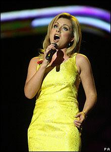 Mezzo-soprano singer Katherine Jenkins