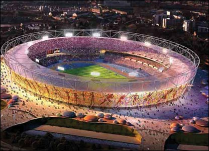2012 London: Officials will unveil on Wednesday the design for the Olympic Stadium, which is to be constructed in Stratford