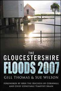 Front cover of the WI Floods 2007 book