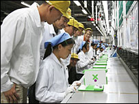 XO laptop production line