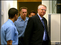Vojislav Seselj at The Hauge (2003)