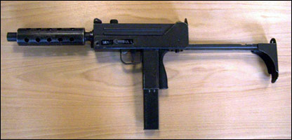Mac-10 used to kill Mr Babadiya