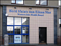 Western Isles Health Board offices. [Pic: Norman Campbell]