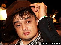 Pete Doherty last week