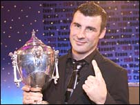 Joe Calzaghe is the reigning BBC Wales Sports Personality