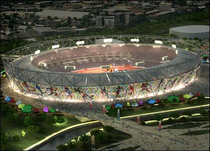 London 2012 officials are looking for a tenant to occupy the stadium once the Olympics and Paralympics are over