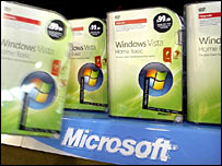 The new Microsoft operating system Vista