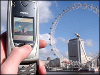 Nokia 7650 camera phone, PA