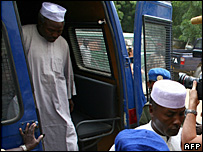 Chadian officials in court on 07 Nov charged in the Zoe's Ark case